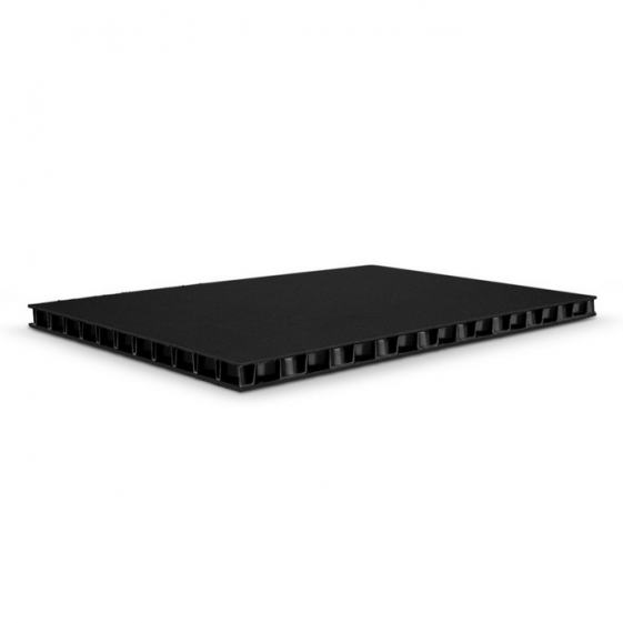 Adam Hall 0594 BB сэндвич-панель пластик двойной черный-черный 9,4 мм
