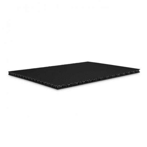 Adam Hall 0568 BB сэндвич-панель пластик двойной черный-черный 6,8 мм