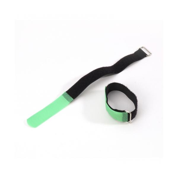 Adam Hall VR 2030 GRN Стяжка для кабеля 300х20 мм с крючком зеленая