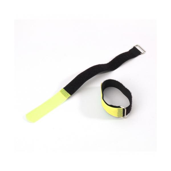 Adam Hall VR 2030 YEL Стяжка для кабеля 300х20 мм с крючком желтая