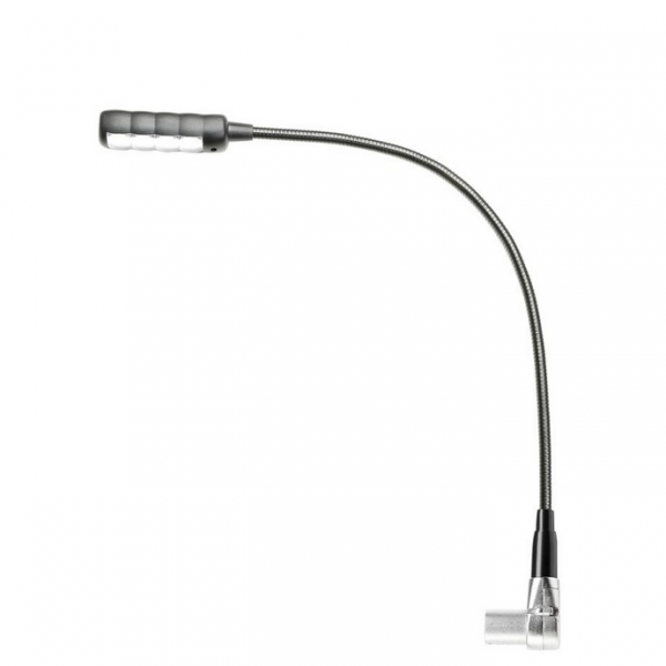 """Adam Hall Stands SLED 1 ULTRA XLR 4 AC Подсветка на """"гусиной шее"""" c разъемом 4-pin XLR, 4 COB LEDs"""
