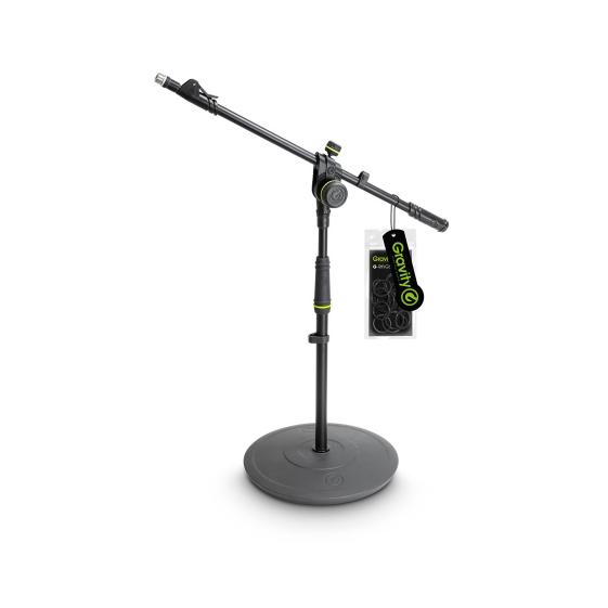 """Gravity GMS2222B Микрофонная стойка """"журавль"""" с круглым основанием"""