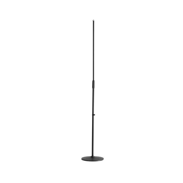 Adam Hall S22 Прямая микрофонная стойка с круглым основанием
