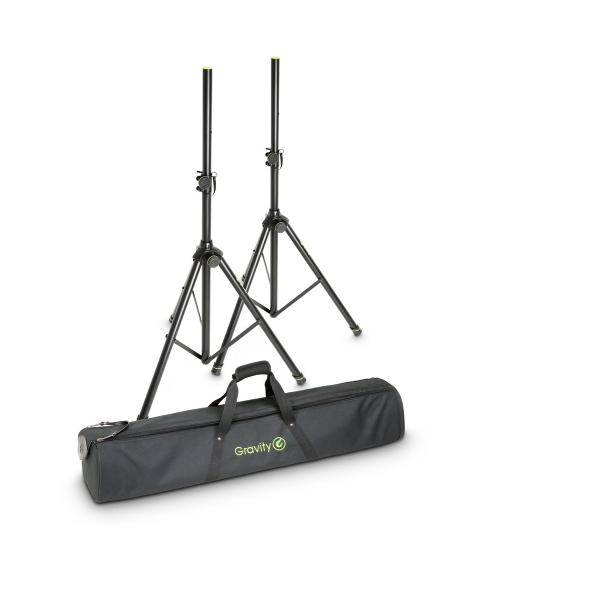 Gravity GSS5211BSET1 Комплект 2-х стоек для акустических систем в чехле