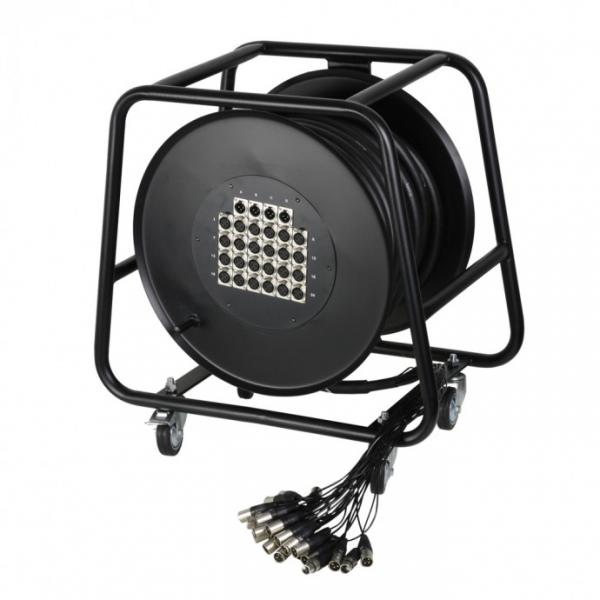 Adam Hall K20C50D Готовый мультикор на барабане 16/4 канала 50 м