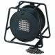 Adam Hall K28C50D Готовый мультикор на барабане 24/4 канала 50 м