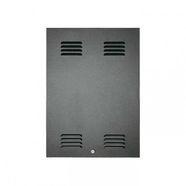 """PASO P5424-D Задняя панель с замком для рэковой стойки 19"""" высотой 24U"""