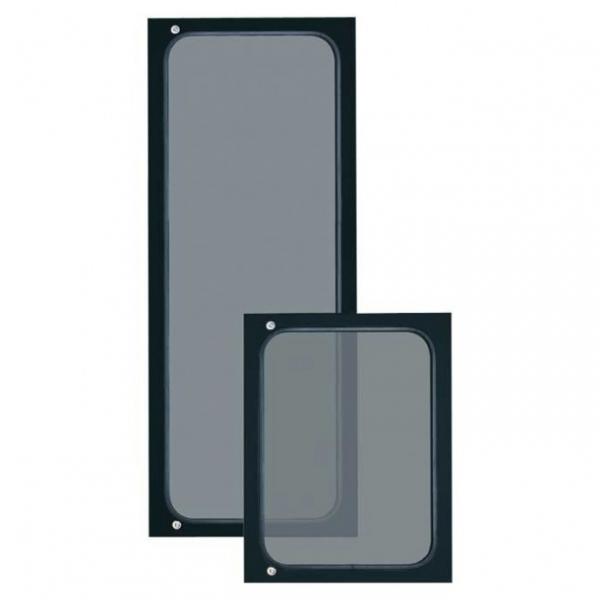 """PASO P5712 Передняя дверь с замком для рэковой стойки 19"""" высотой 12U"""