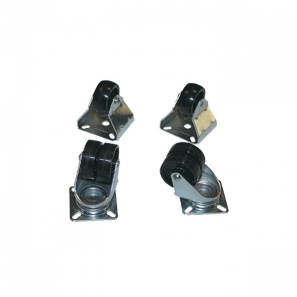 PASO AC54-D Комплект 4-х колес для рэковой стойки