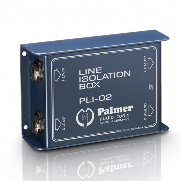 Palmer LI 02 Пассивный двухканальный ди-бокс