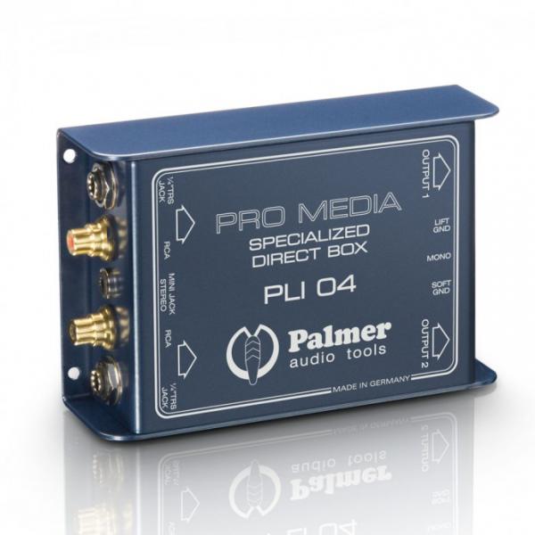 Palmer Pro PLI04 Универсальный пассивный двухканальный ди-бокс