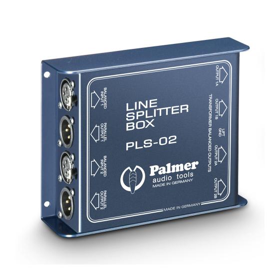 Palmer Pro PLS02 Пассивный двухканальный сплиттер линейного сигнала