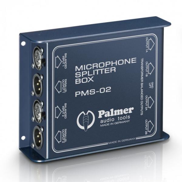 Palmer MS 02 Пассивный двухканальный микрофонный сплиттер