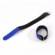 Adam Hall VR2020BLU Стяжка для кабеля 20 см с крючком синяя