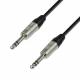 Adam Hall K4BVV0090 кабель патч-корд REAN 6.3 мм Jack стерео - 6.3 мм Jack стерео 0.9 м