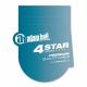 Adam Hall K4DGH1500IP65 кабель коммутационный DMX AES/EBU XLR 5 pin (вилка) - XLR 5 pin (розетка)