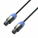 Adam Hall K3S215SS0500 кабель акустический 2 x 1.5 мм² разъемы Speakon, 4-pin 5 м