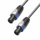 Adam Hall K4S225SS1500 кабель акустический 2 x 2.5 мм² разъемы Speakon, 4-pin 15 м