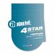 Adam Hall K4YVMF0300 аудио кабель REAN 6.3 мм Jack стерео - 1 x XLR (розетка) и 1 x XLR (вилка) 3 м