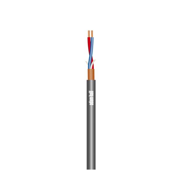 Adam Hall KMK222STGR кабель микрофонный 2 х 0,22 мм²