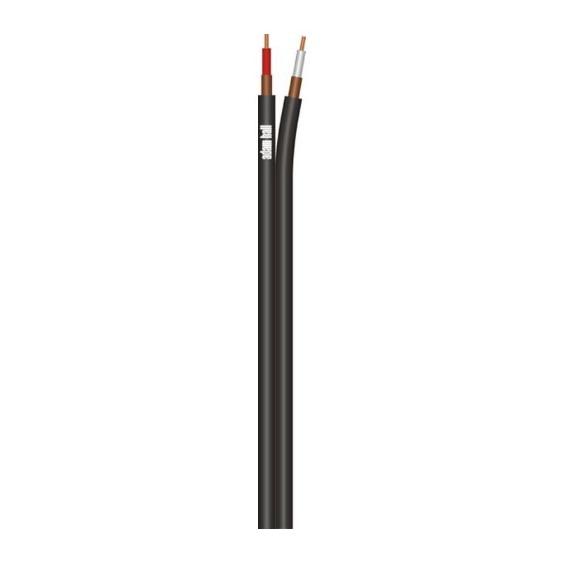 Adam Hall KIK125T кабель инструментальный небалансный сдвоенный 2 х 0,25 мм²