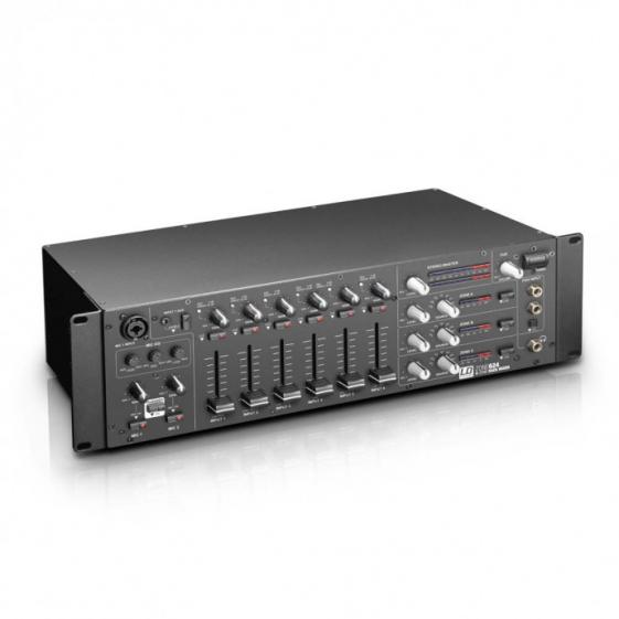 LD Systems LDZONE624 8-ми канальный 4-х зонный микшер