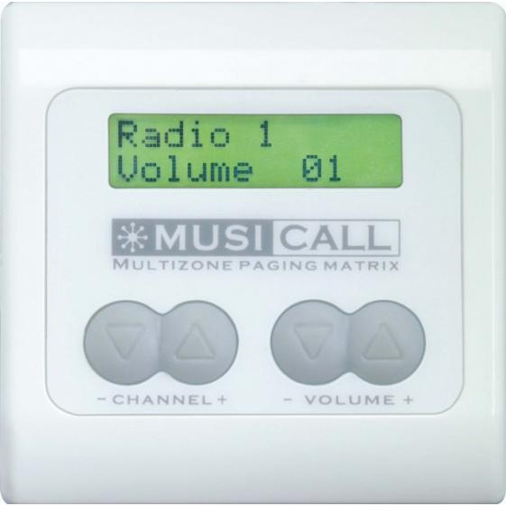 MUSICALL MRC3L Настенная контрольная панель дистанционного управления