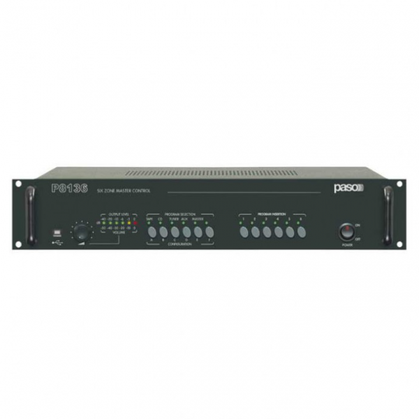 PASO P8136 Master контроллер системы многозонной трансляции