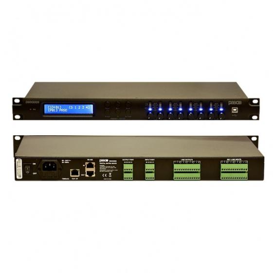 PASO DMX8008 Цифровой матричный аудио процессор 8 входов / 8 выходов