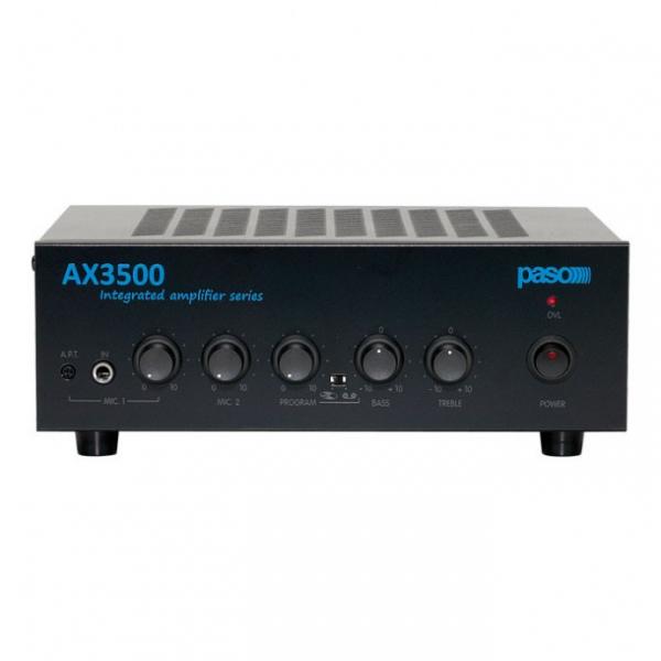 PASO AX3504 усилитель мощности с микшером 40 Вт