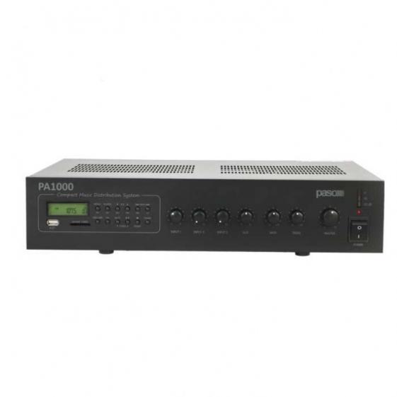 PASO PA1060 AM/FM-тюнер MP3 плеер USB-SD/MMC карт 60 Вт