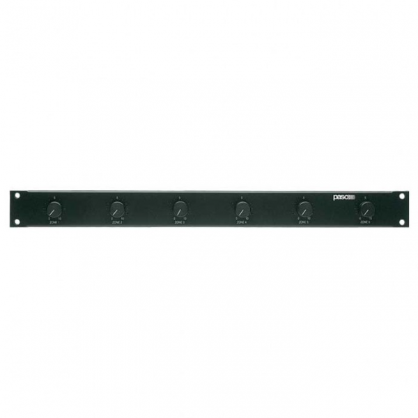 PASO P8056 Блок 6-ти канальных аттенюаторов 50 Вт/100 В