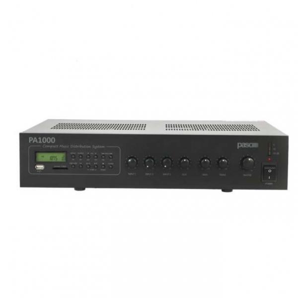 PASO PA1120 AM/FM-тюнер MP3 плеер USB-SD/MMC 120 Вт
