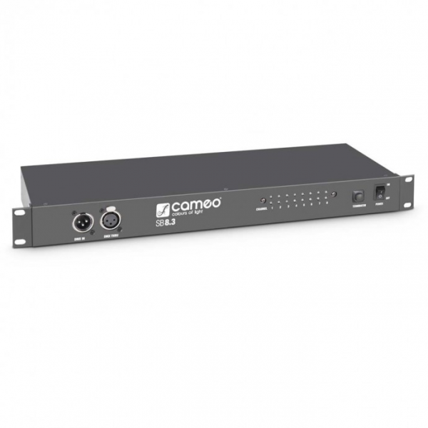 Cameo SB8.3 DMX сплиттер 8 канальный (XLR 3-pin)