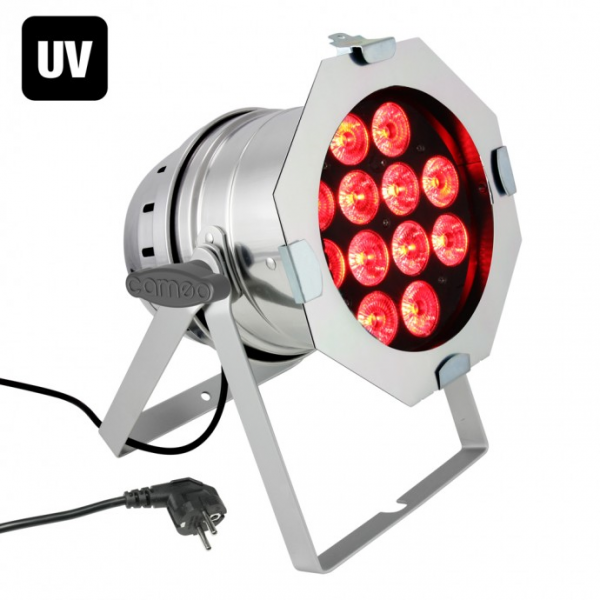 Cameo PAR 64 CAN RGBWA+UV 10 WPS LED прожектор 12x10W