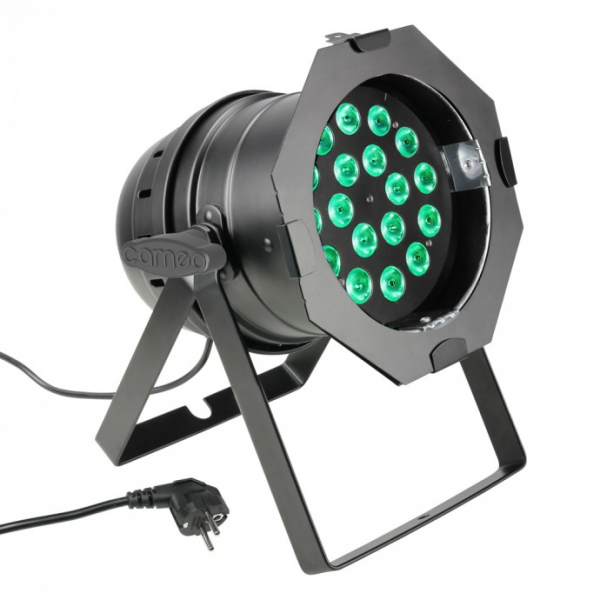 Cameo PAR 64 CAN прожектор 18 x 8 W QUAD Color LED PAR Can RGBW BS
