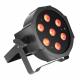 Adam Hall Cameo FLAT PAR CAN TRI 3W IR Blk прожектор 7 x 3 W
