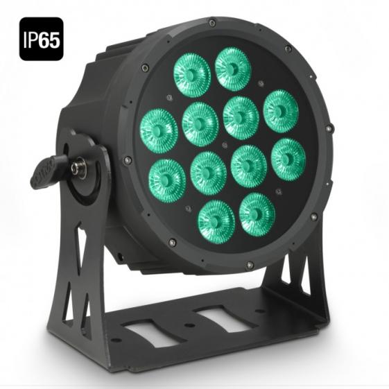 Adam Hall Cameo FLAT PRO 12 IP65 прожектор 12 x 10 W FLAT LED Outdoor RGBWA PAR
