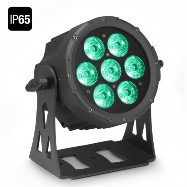 Adam Hall Cameo FLAT PRO 7 IP65 прожектор 7 x 10 W FLAT LED Outdoor RGBWA PAR