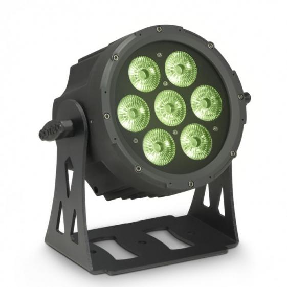 Adam Hall Cameo FLAT PRO 7 XS прожектор 7 x 8 W Quad LED PAR
