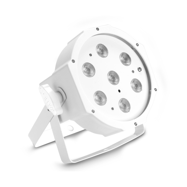 Cameo FLAT PAR 1 TW IR WH прожектор 7x4W White LED PAR