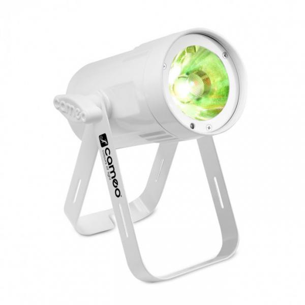 Adam Hall Cameo Q-SPOT 15 RGBW WH прожектор 15W RGBW LED in white housing