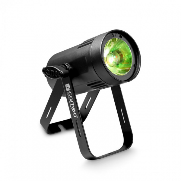 Adam Hall Cameo Q-SPOT 15 RGBW прожектор 15W RGBW LED in black housing