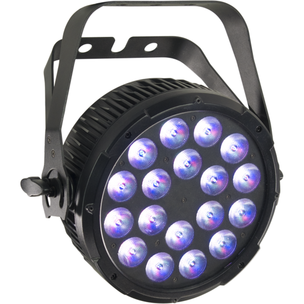 MUSIC & LIGHTS LUMIPAR18QPRO прожектор 18 х 8 W LED PAR Full Color