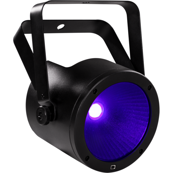 MUSIC & LIGHTS FLATCOB80UV LED прожектор 1x80W