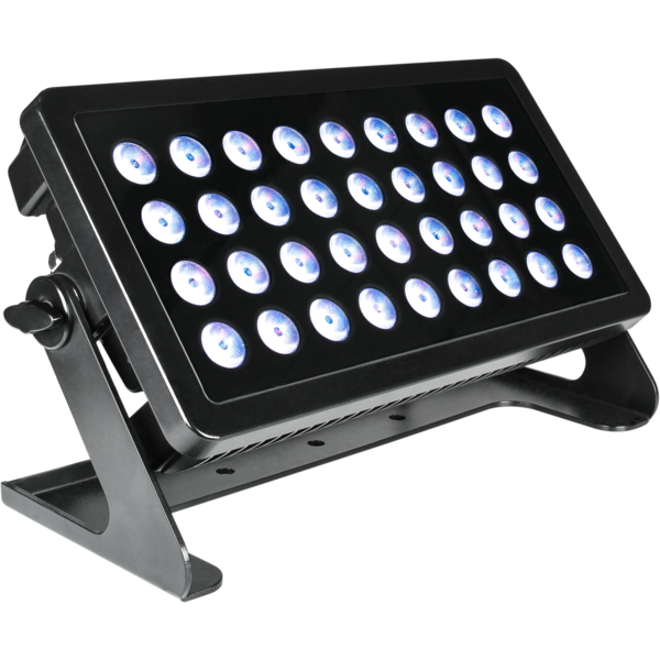 MUSIC & LIGHTS SOLAR LED-прожектор 36x8W