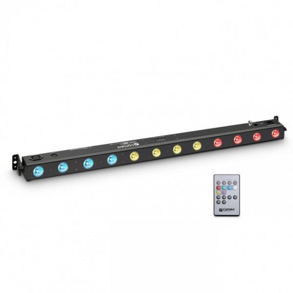Adam Hall CAMEO TRIBAR 200 IR световой прибор с пультом управления, 12 x 3 W TRI LED Bar in black ho