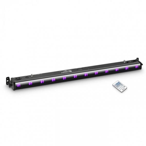 Adam Hall CAMEO UVBAR 200 IR световой прибор с пультом управления, 12 x 3 W UV LED Bar in black hous