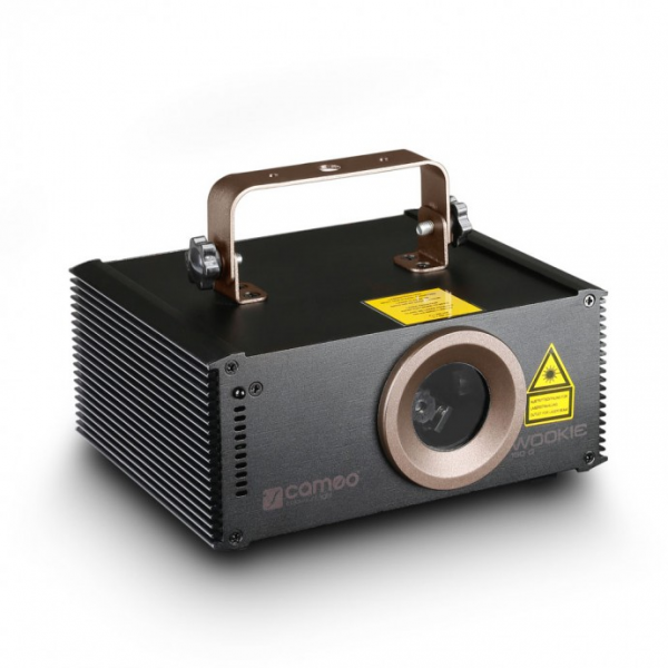 Adam Hall CAMEO WOOKIE 400 RGB анимационный лазер 400 mW RGB