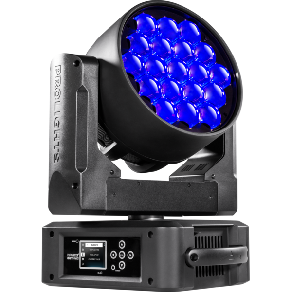 ProLights DIAMOND 19CC LED-washer вращающаяся голова 19x15W